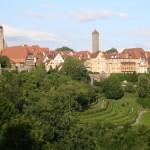 Aussicht auf Rothenburg