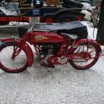 Oldtimer mit Seitenwagen