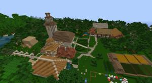 Minecraft Dorf
