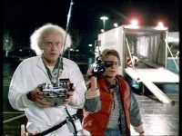 Dr. Brown und Marty McFly