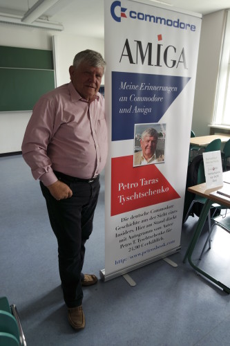 Petro Tyschtschenko bei der langen NAcht der Spiele in Leipzig