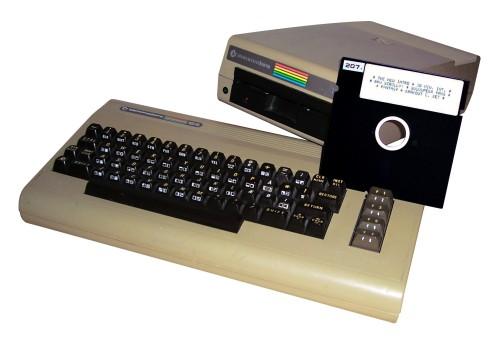 C64 mit Floppy