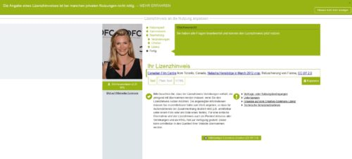 Lizenzhinweisgenerator - Fertige Lizenz