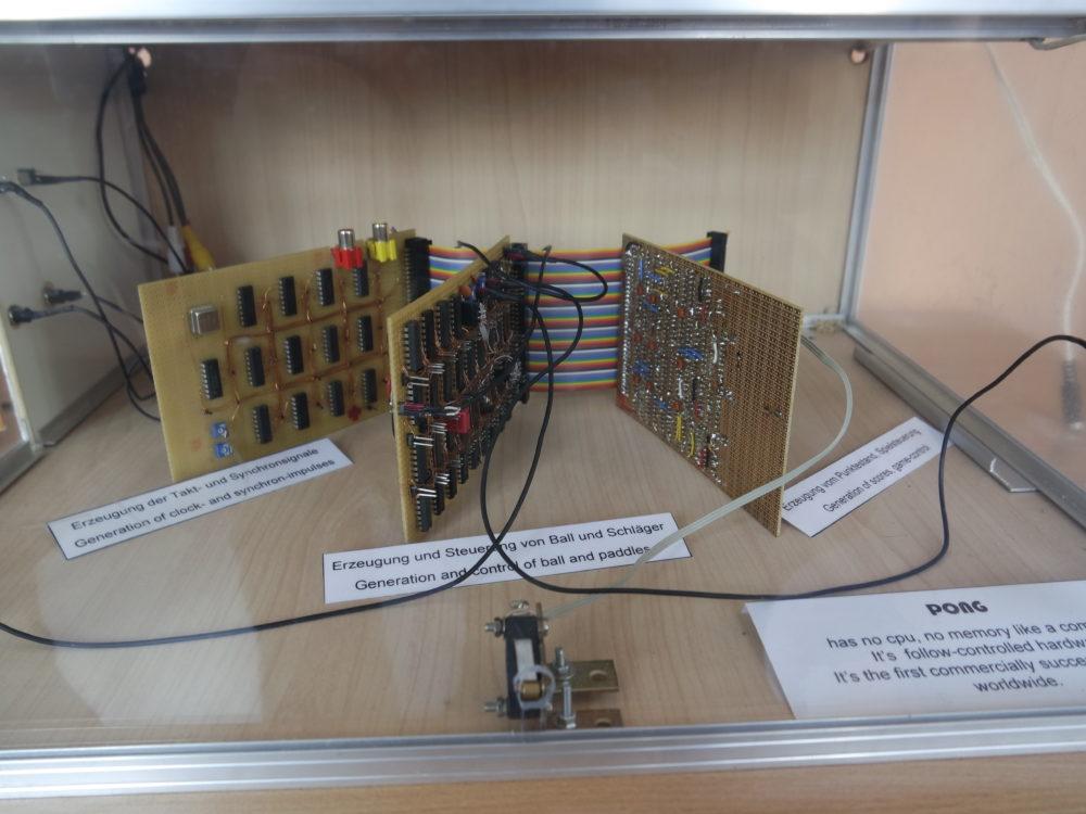 Pong Automat Innenleben