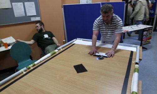 Pong Variante mit Robotern