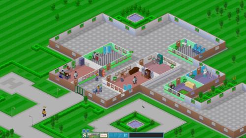 Gut gehalten: Der Charme und schwarze Humor von Theme Hospital lässt sich dank CorsixTH mit einer zeitgemäßen Auflösung kombinieren.