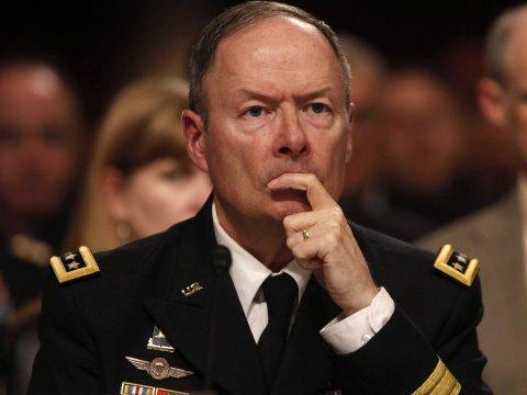 Überraschter NSA Direx