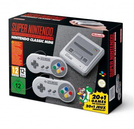 Die Verpackung des Nintendo Classic Mini Super Nintendo Entertainment System (Foto: Nintendo)