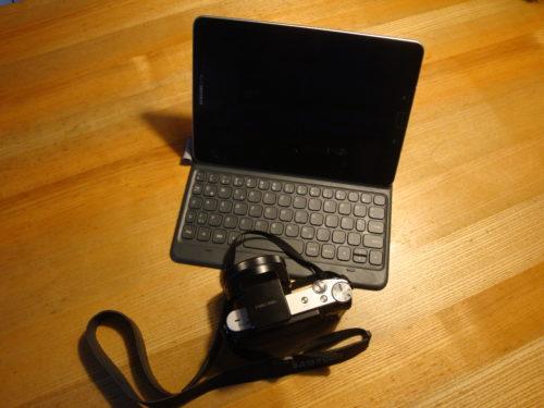 Tablet und Kamera - mein mobiler Gerätepark